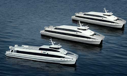 ROLLS-ROYCE WATERJETS AND MTU ENGINES SELECTED FOR NEW FAST